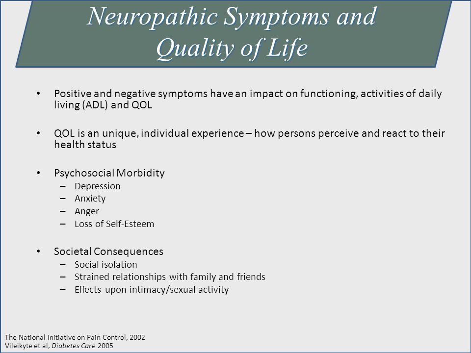 Neuropathic Symptoms and