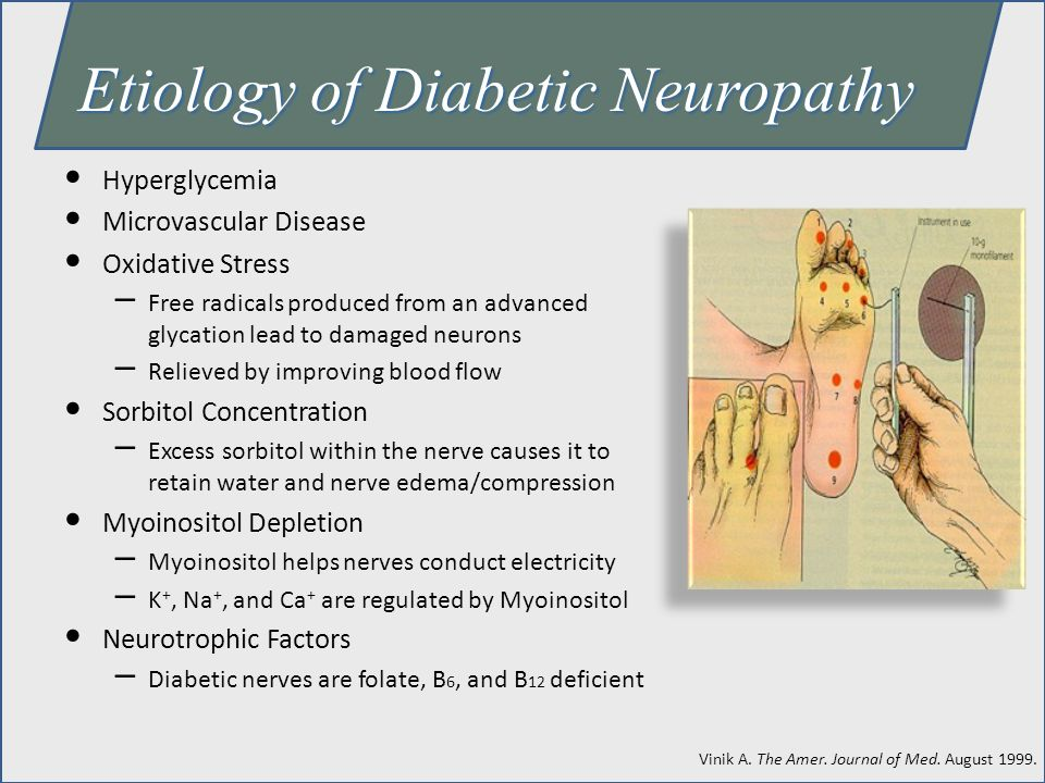 Etiology of Diabetic Neuropathy
