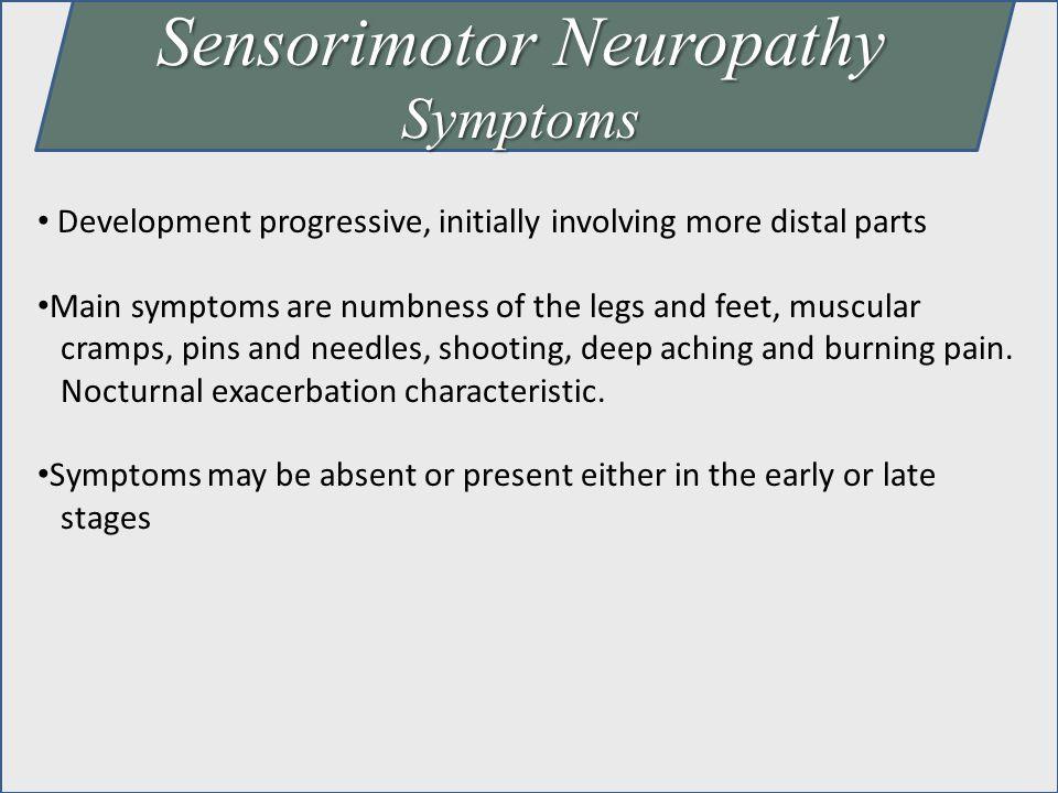 Sensorimotor Neuropathy
