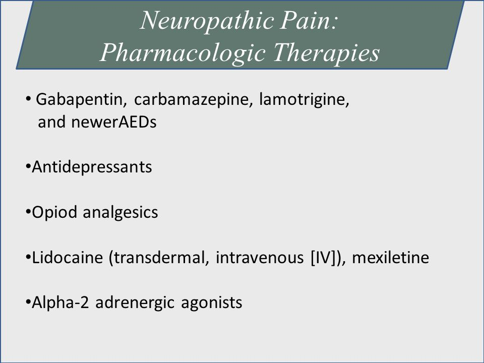 Pharmacologic Therapies