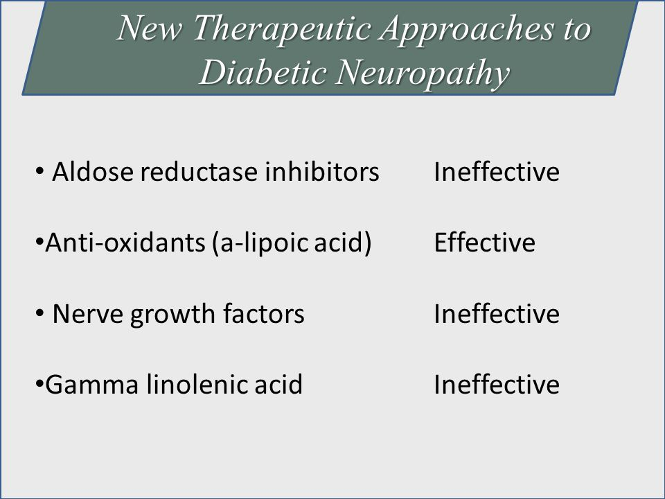 New Therapeutic Approaches to