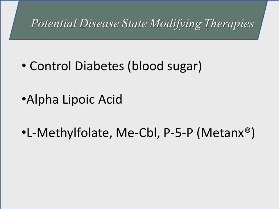 Control Diabetes (blood sugar) Alpha Lipoic Acid