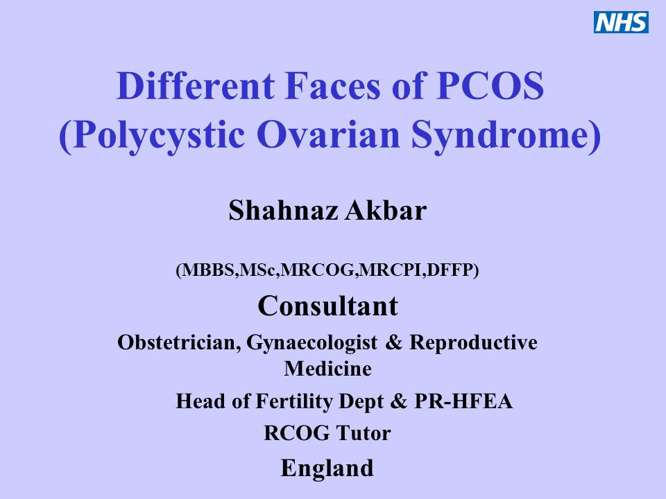 Different Faces of PCOS (Polycystic Ovarian Syndrome)