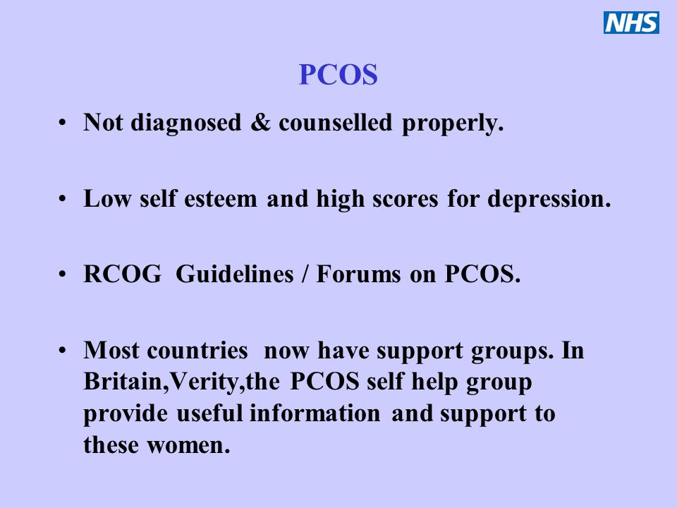 PCOS Not diagnosed & counselled properly.