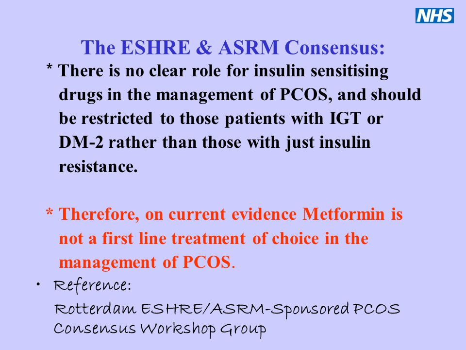 The ESHRE & ASRM Consensus: