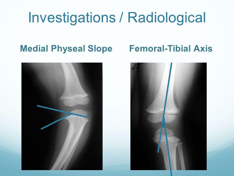 Investigations / Radiological