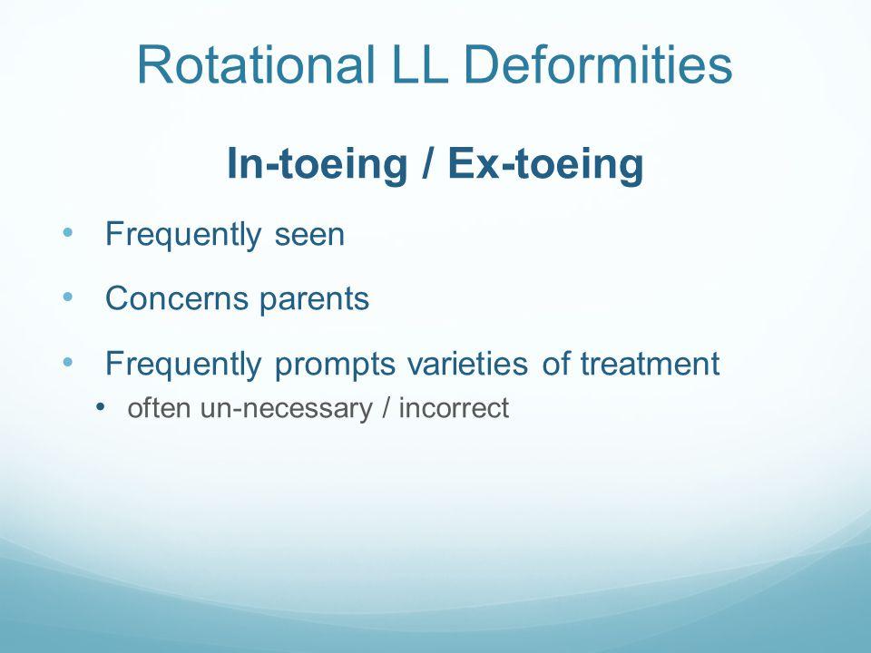 Rotational LL Deformities