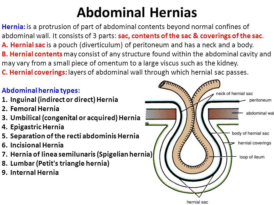 Abdominal Hernias