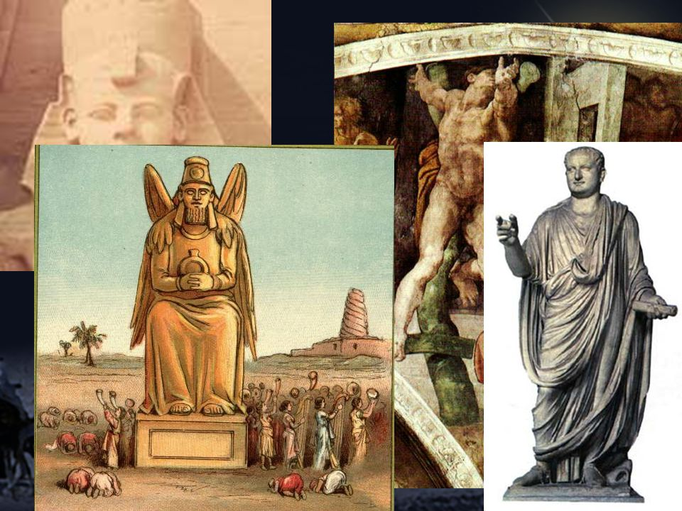 Pharaoh, Haman, Nebuchadnezzar, Titus,