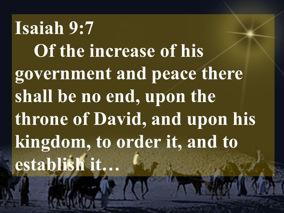 Isaiah 9:7