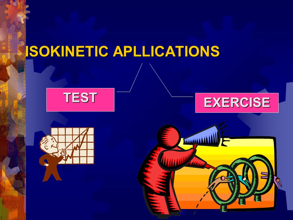 ISOKINETIC APLLICATIONS