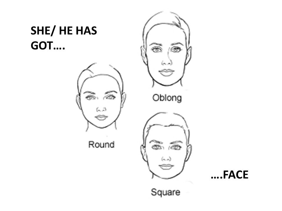 SHE/ HE HAS GOT…. ….FACE