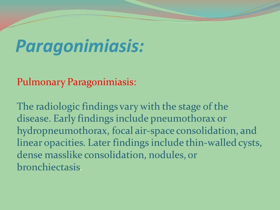 Paragonimiasis: