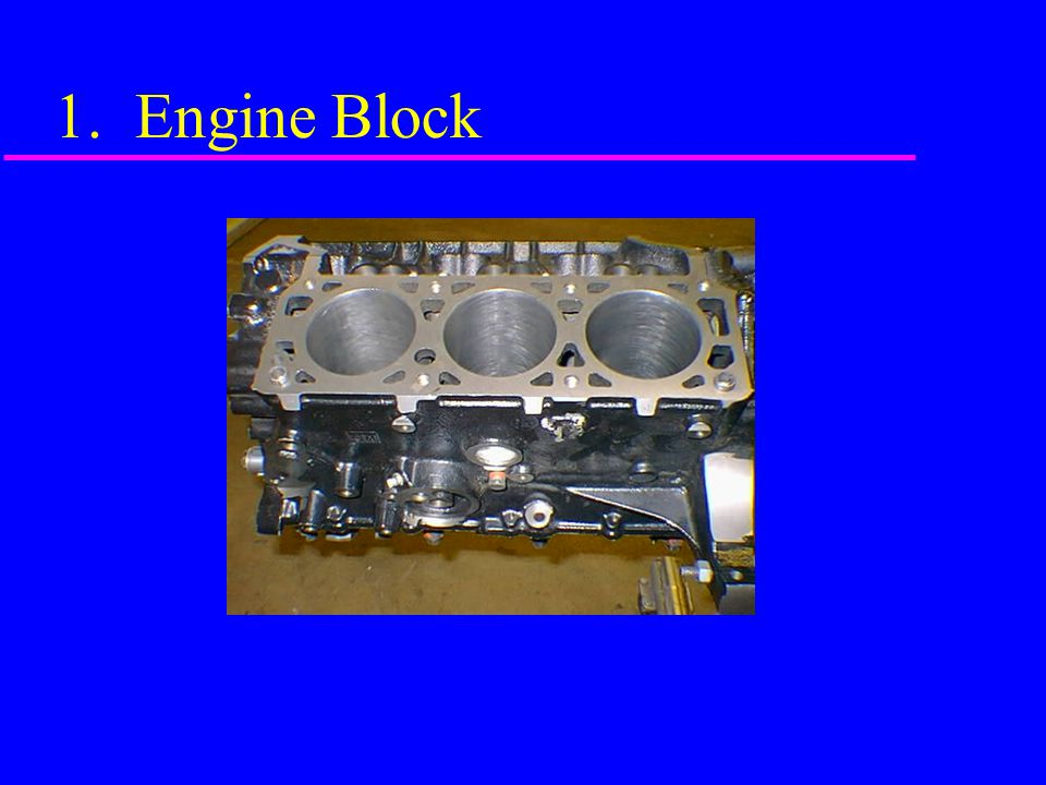 1. Engine Block
