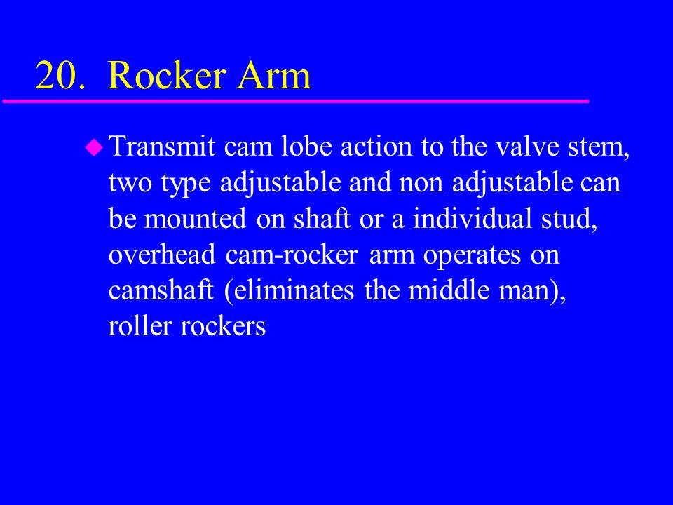 20. Rocker Arm