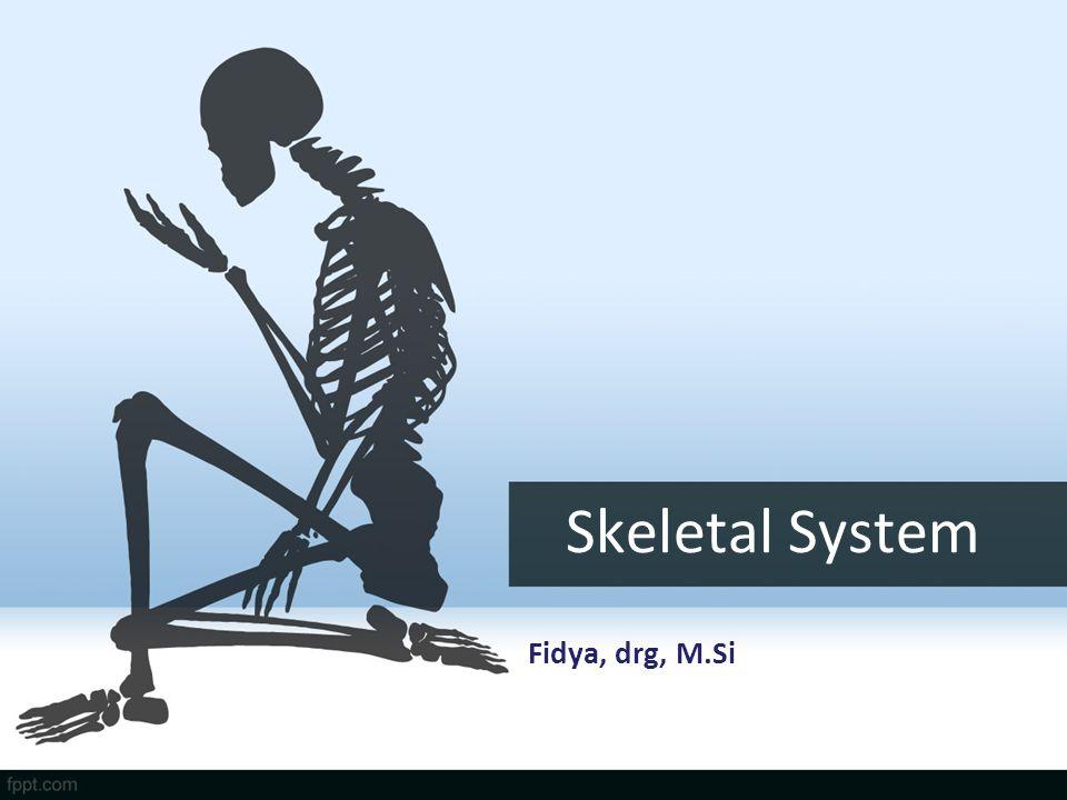 Skeletal System Fidya, drg, M.Si