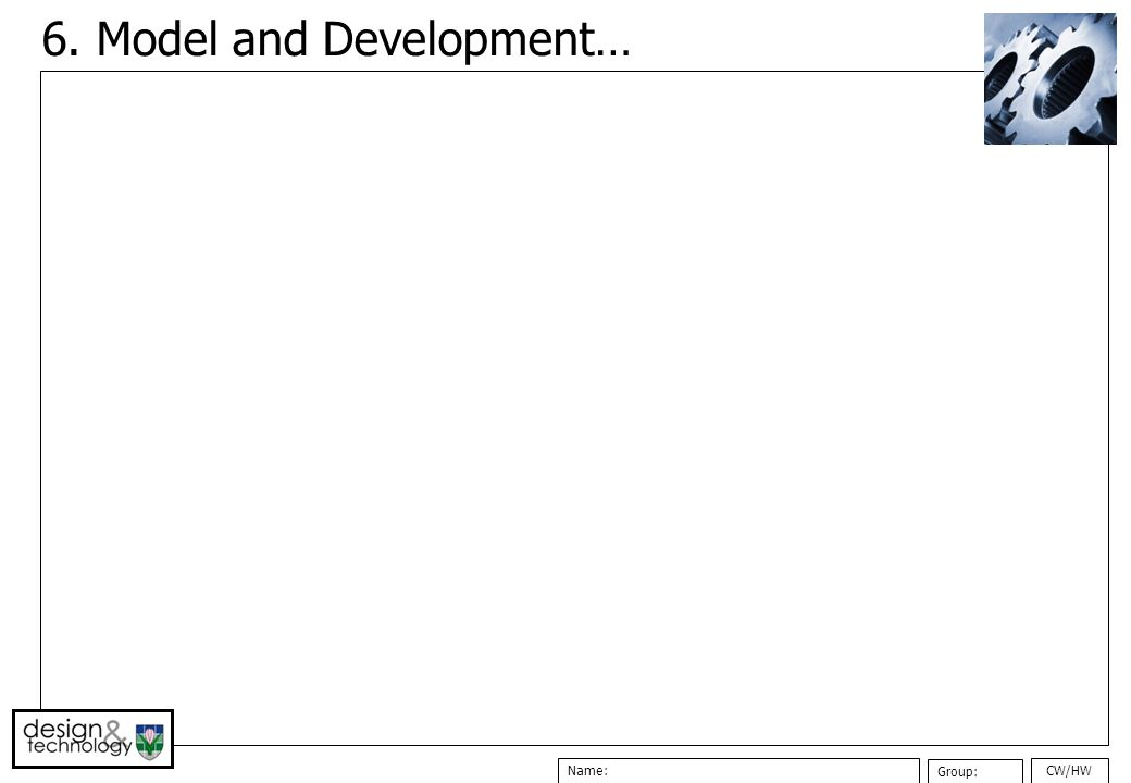 6. Model and Development…