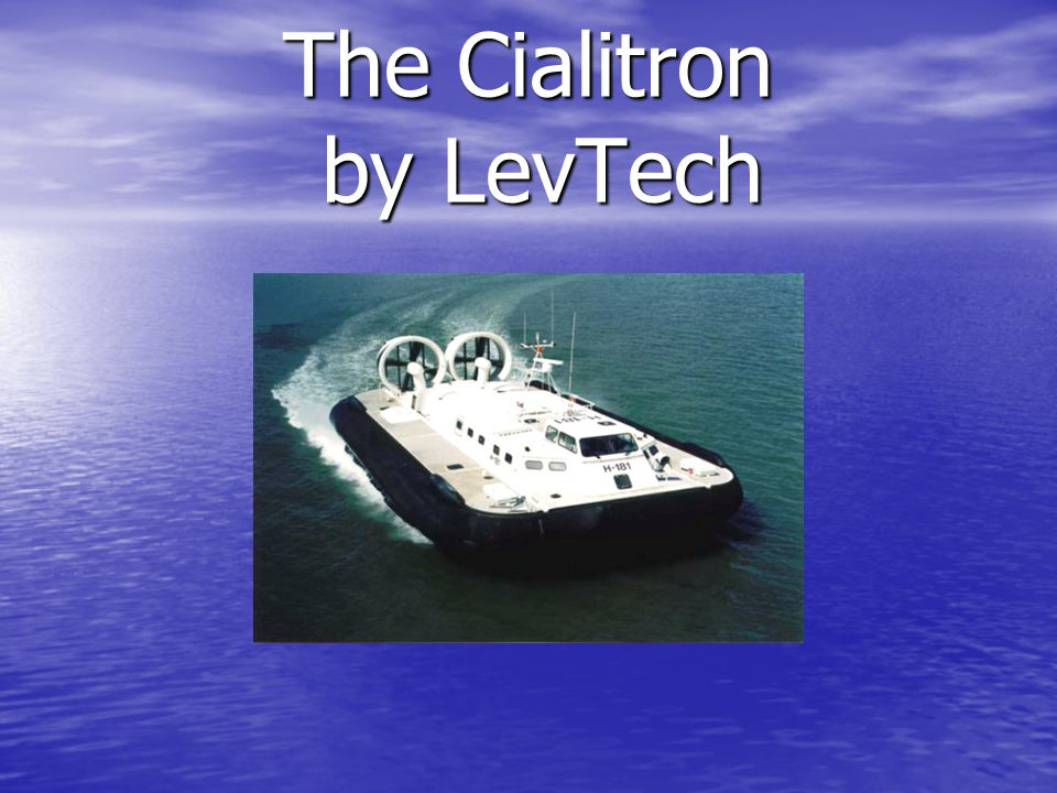 The Cialitron by LevTech