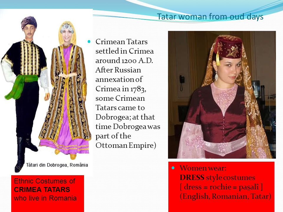Tatar woman from oud days
