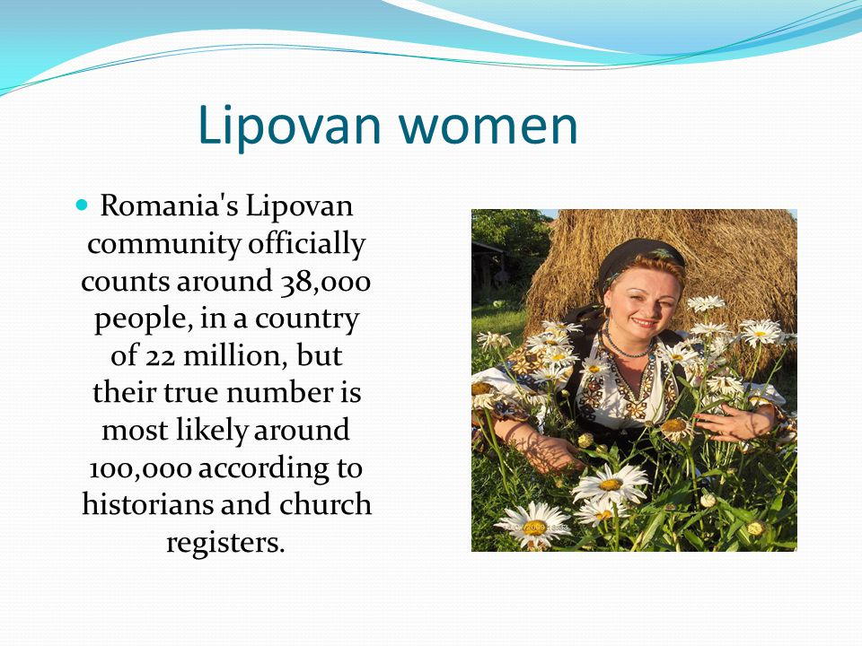 Lipovan women