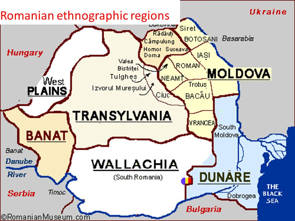 Romanian ethnographic regions