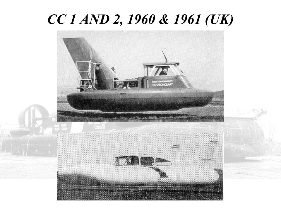 CC 1 AND 2, 1960 & 1961 (UK) THIS SHOWS THE EARLY PRODUCTS OF BRITAIN – NORMAN, THE CUSHION CRAFT 1 AND 2.