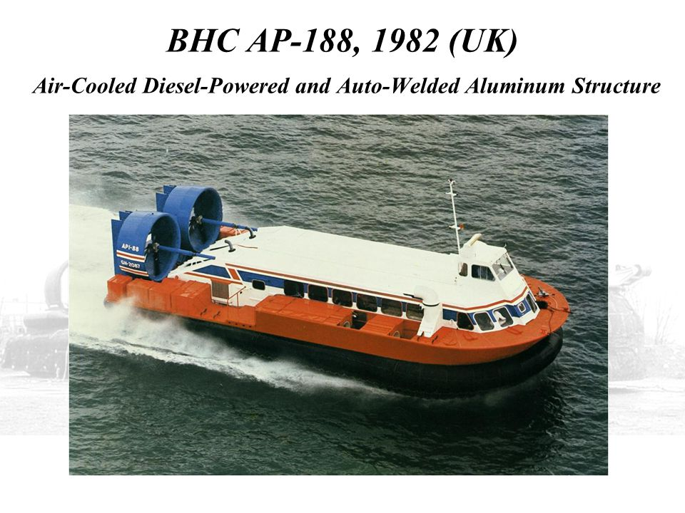BHC AP-188, 1982 (UK) Air-Cooled Diesel-Powered and Auto-Welded Aluminum Structure