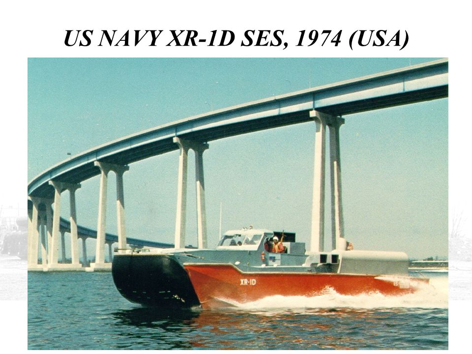 US NAVY XR-1D SES, 1974 (USA) THIS SHOWS THE XR-1 IN SAN DIEGO AS THE XR-1D.