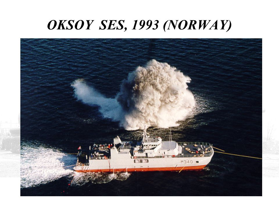 OKSOY SES, 1993 (NORWAY) THE FIRST BOAT WAS LAUNCHED IN 1993 AND WAS THE SUBJECT OF EXTENSIVE TRIALS.