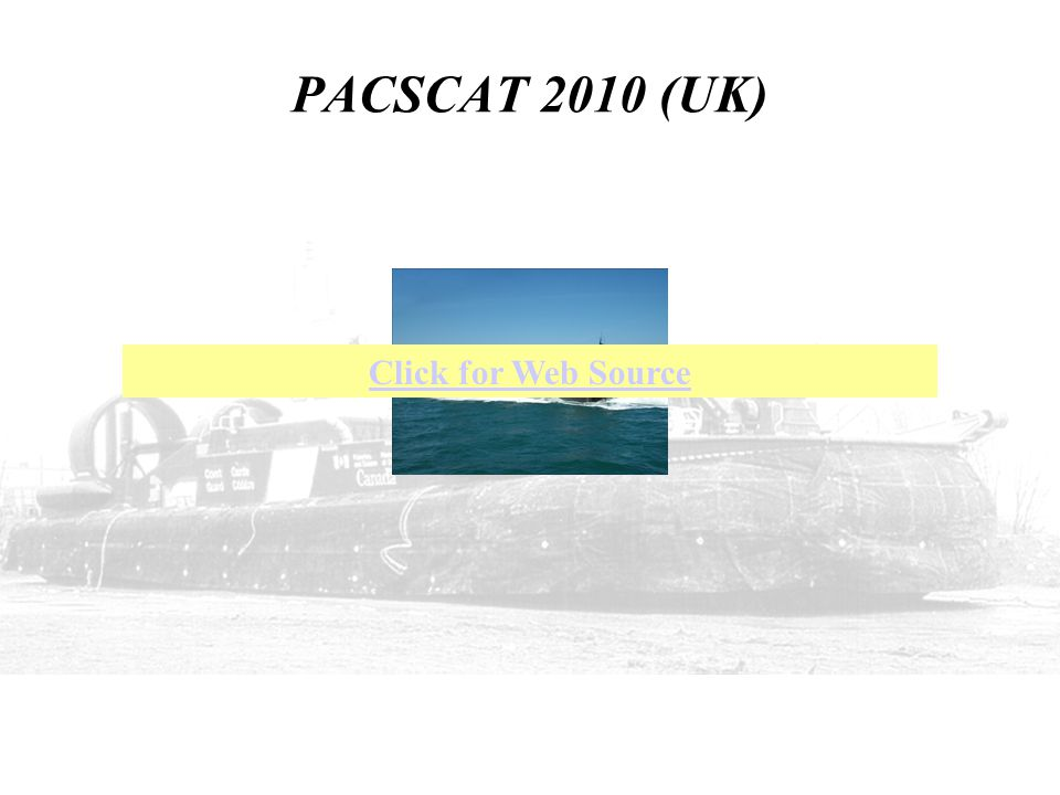 PACSCAT 2010 (UK) Click for Web Source