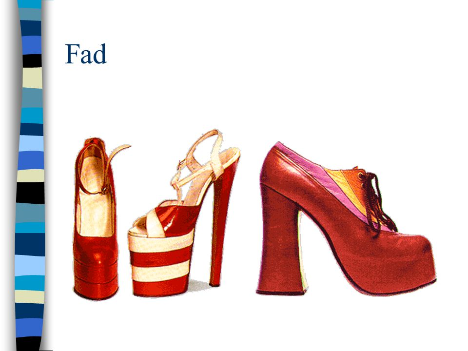 Fad Platform shoes from the 70's