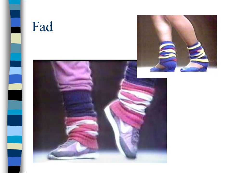 Fad Leg warmers from the 80's