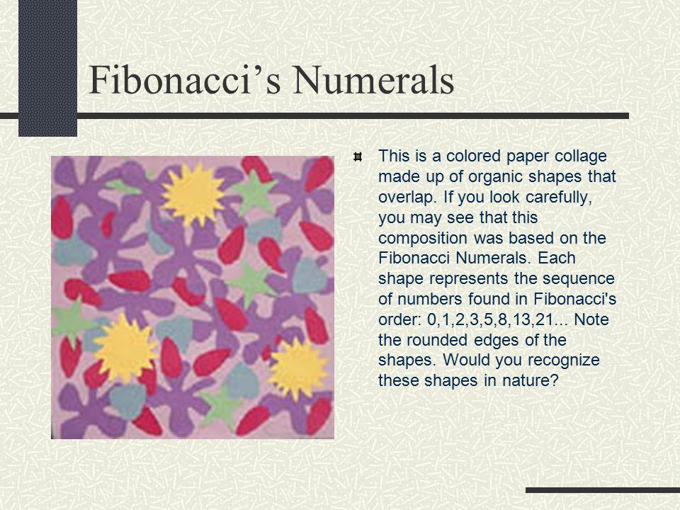 Fibonacci's Numerals