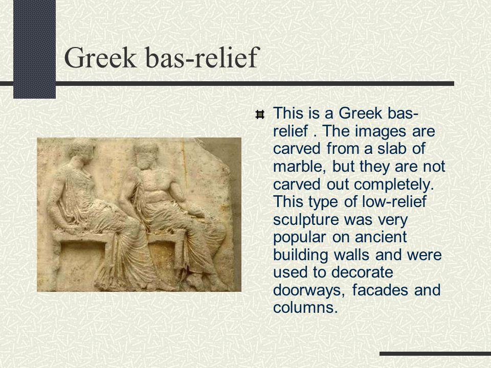 Greek bas-relief