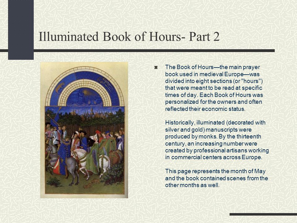 Illuminated Book of Hours- Part 2