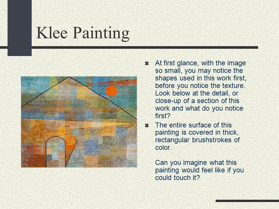 Klee Painting