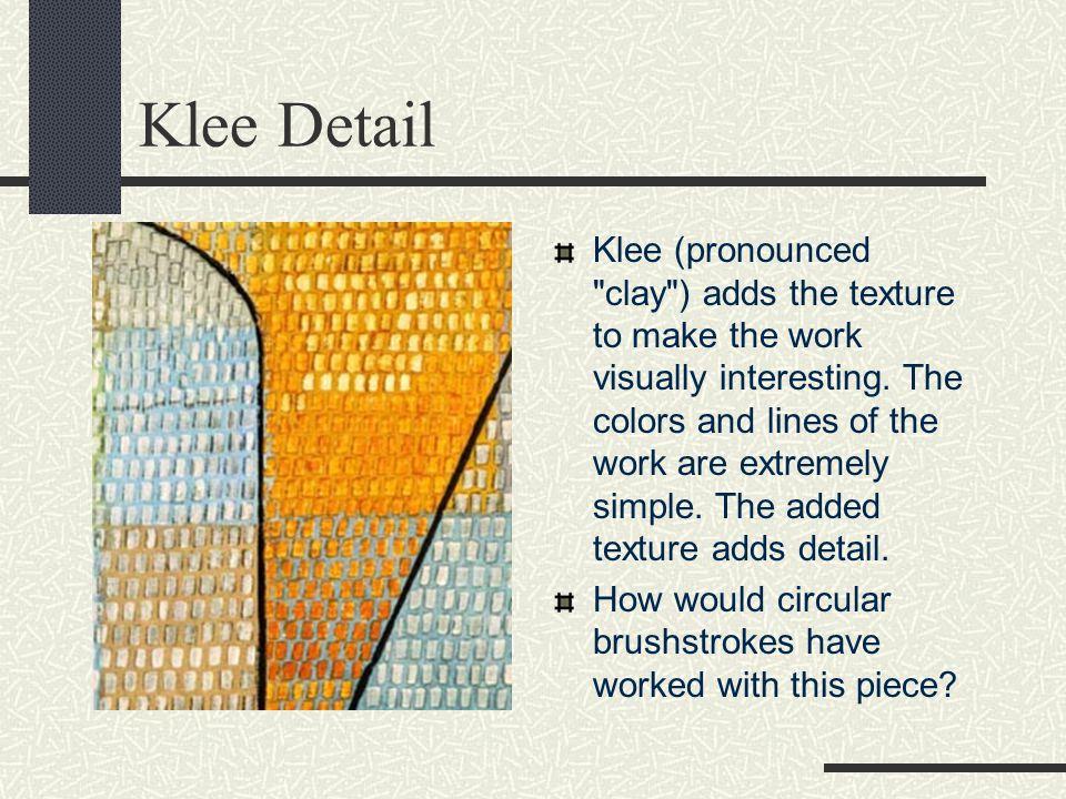 Klee Detail