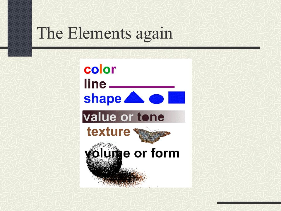 The Elements again