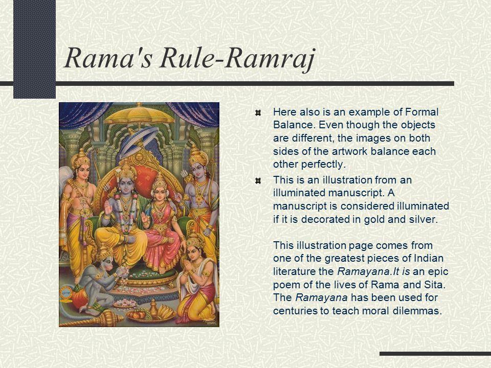 Rama s Rule-Ramraj