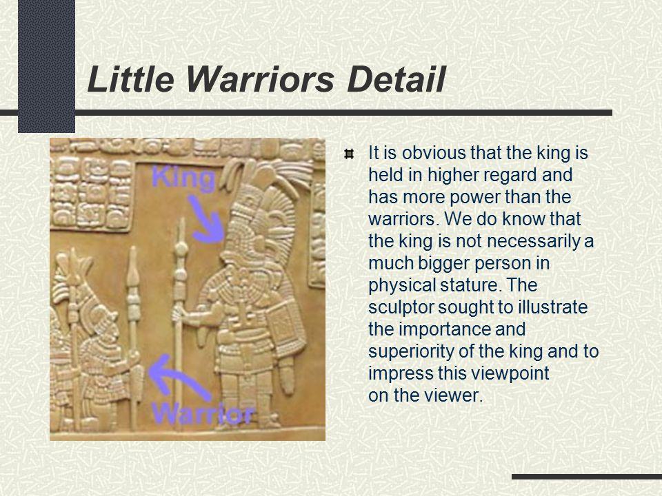 Little Warriors Detail