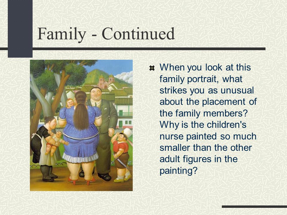 Family - Continued
