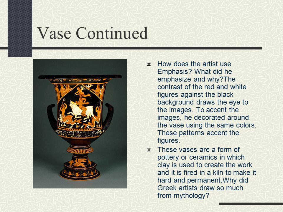 Vase Continued