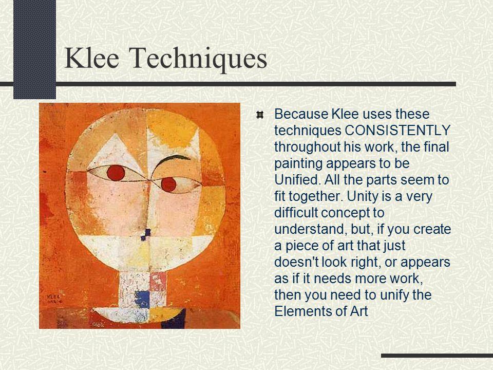 Klee Techniques