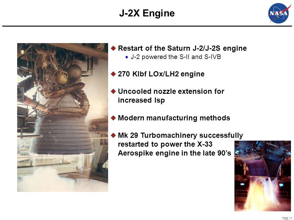J-2X Engine Restart of the Saturn J-2/J-2S engine