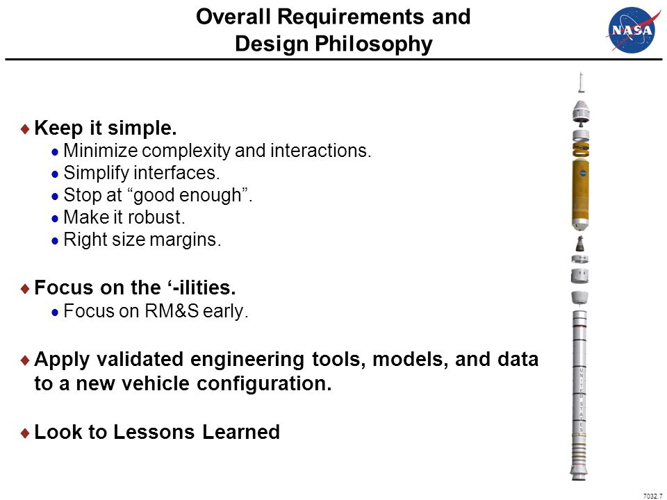 Overall Requirements and Design Philosophy