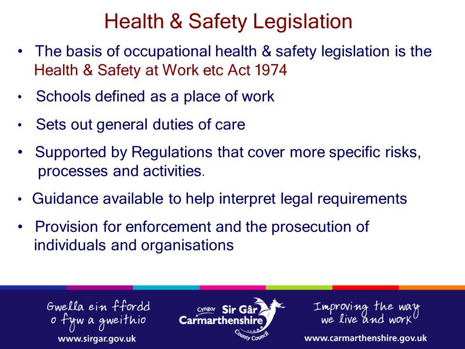 Health & Safety Legislation
