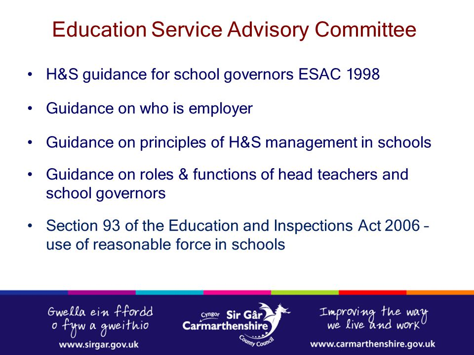 Education Service Advisory Committee