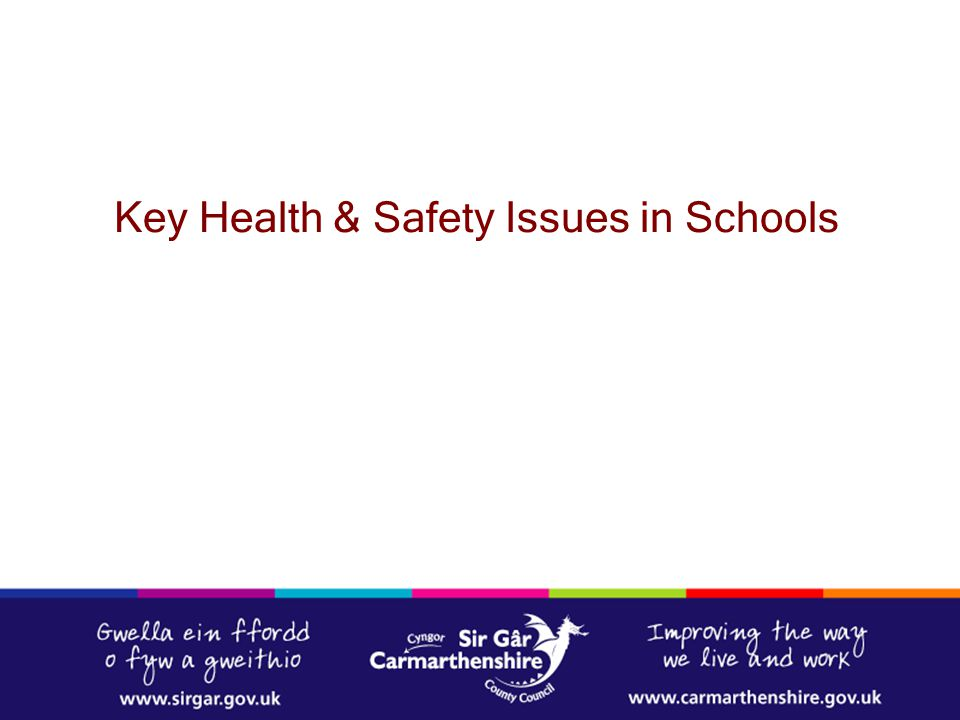 Key Health & Safety Issues in Schools