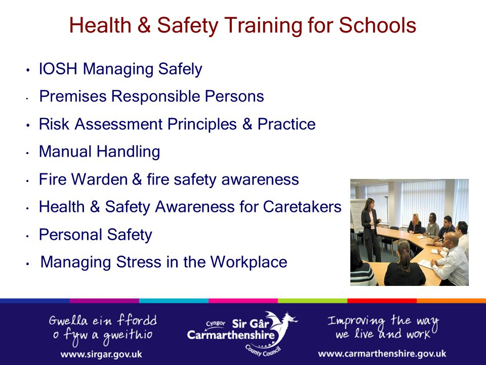 Health & Safety Training for Schools