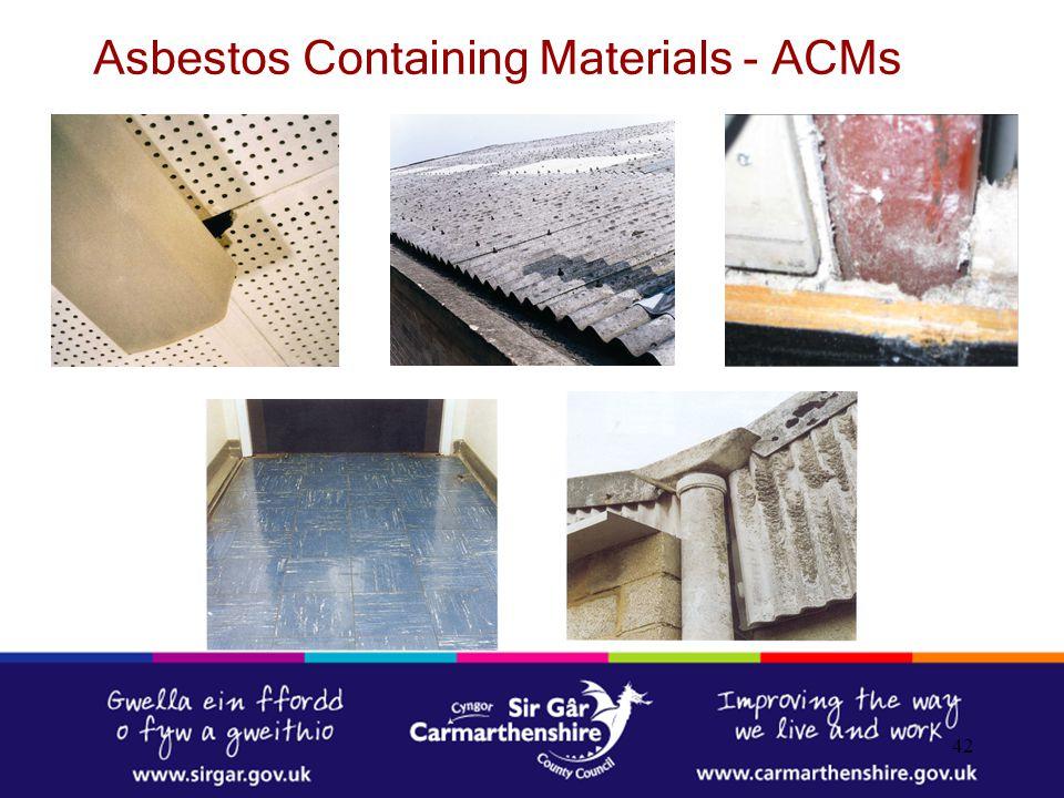 Asbestos Containing Materials - ACMs